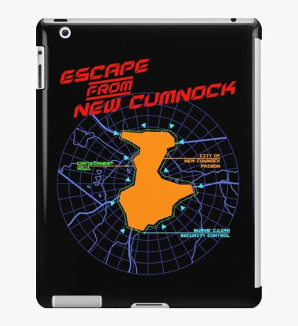 Escape From New Cumnock Title Map iPad Case/Skin