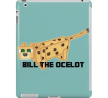 Bill The Ocelot iPad Case/Skin