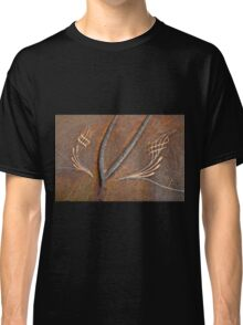 Rusty Car Hood with Pinstripes Classic T-Shirt