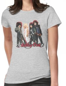 Motley Crue Womens Fitted T-Shirt