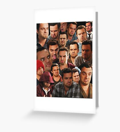 New Girl - Nick Miller Greeting Card