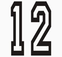 TEAM SPORTS, NUMBER 12, TWELVE, TWELFTH, Competition by TOM HILL - Designer
