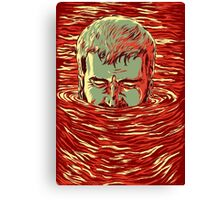 I am sinking here Canvas Print
