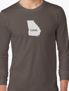Georgia Love Long Sleeve T-Shirt