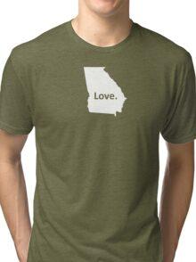 Georgia Love Tri-blend T-Shirt