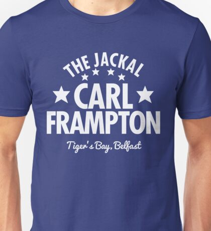 The Jackal Carl Frampton (Tiger's Bay Version) Unisex T-Shirt
