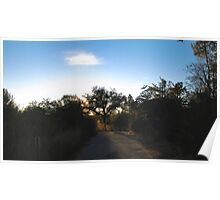Road Sunset - SCM Poster