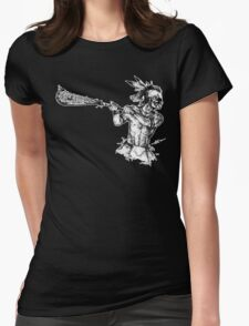 The Founder (Border) Womens Fitted T-Shirt