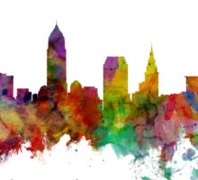 Cleveland Ohio Skyline Sticker