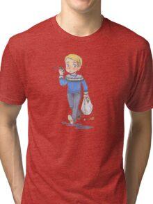 John Watson Running Errands Tri-blend T-Shirt