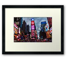Times Square North H Framed Print