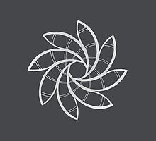 Mandala #219 || Chalk by RedBookJournals