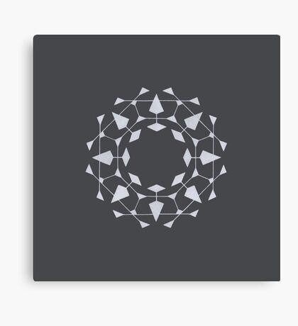 Mandala #220 || Chalk Canvas Print