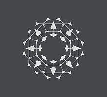 Mandala #220 || Chalk by RedBookJournals