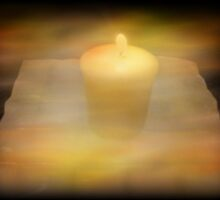God's Love Melts Away The Darkness by Marie Sharp