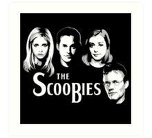 The Scoobies  Art Print