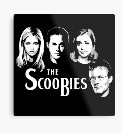 The Scoobies  Metal Print