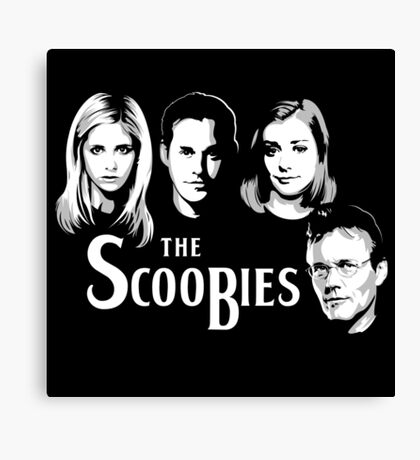 The Scoobies  Canvas Print