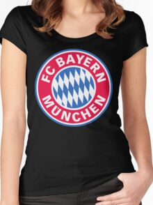 Bayern Munich football club  Women's Fitted Scoop T-Shirt