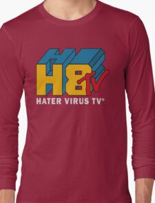 H8 TV Logo. Long Sleeve T-Shirt