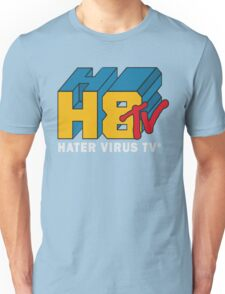 H8 TV Logo. Unisex T-Shirt