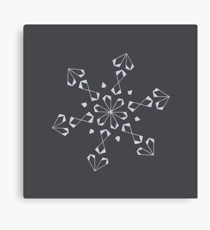 Mandala #221 || Chalk Canvas Print