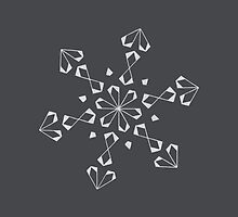 Mandala #221 || Chalk by RedBookJournals