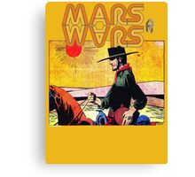 Mars Travels. Canvas Print