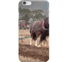 Ploughing its a slow job  iPhone Case/Skin