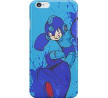 Mega Man Joins The Battle iPhone Case/Skin