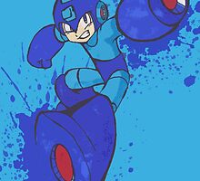 Mega Man Joins The Battle by nictheprincess