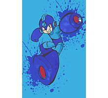 Mega Man Joins The Battle Photographic Print