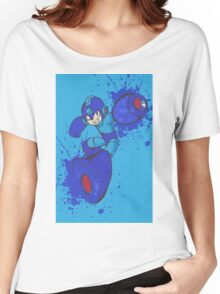 Mega Man Joins The Battle Women's Relaxed Fit T-Shirt