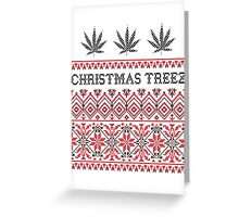 XMAS TREEZ Greeting Card