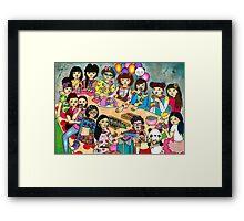 Yumi's Birthday Party Framed Print