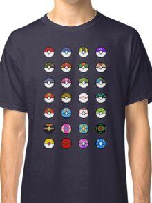 Pokeballs Pixel Art Classic T-Shirt