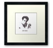 De Niro Framed Print