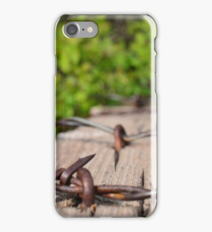 Barbed Forest iPhone Case/Skin