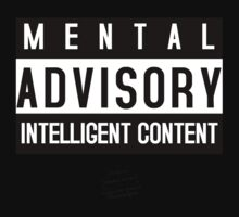 MENTAL ADVISORY - NUANCE RETRO by NuanceArt