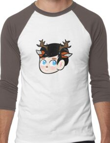 Phil Deer Snapchat Filter Men's Baseball ¾ T-Shirt