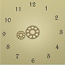 Cogs Clock by Anders Andersen