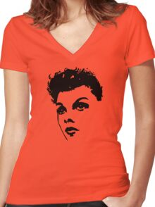 Judy Live At Carnagie Hall Women's Fitted V-Neck T-Shirt