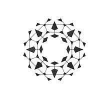 Mandala #220 || Mono by RedBookJournals
