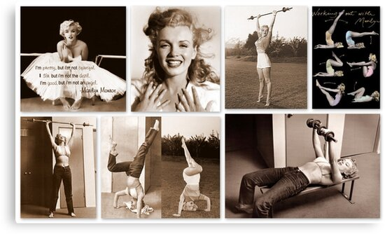 Working out with Marilyn by ©The Creative  Minds