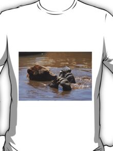 Grizzly Bear Water Play... T-Shirt