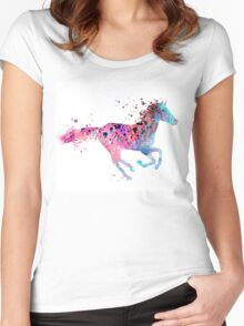 Horse  Women's Fitted Scoop T-Shirt