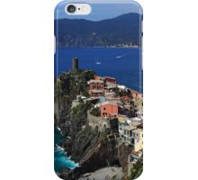 Vernazza on the Cinque Terre coast iPhone Case/Skin