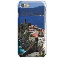 Vernazza on the Cinque Terre coast iPhone Case/Skin