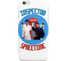 Inspector Spacetime! iPhone Case/Skin