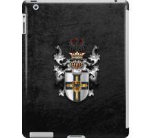 Teutonic Order - Coat of Arms over Black Velvet iPad Case/Skin